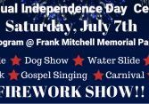 22nd Annual Independence Day Celebration