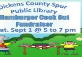 cickens library cookout