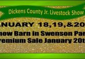 dickens county live stock show