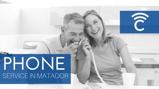 Phone Service in Matador