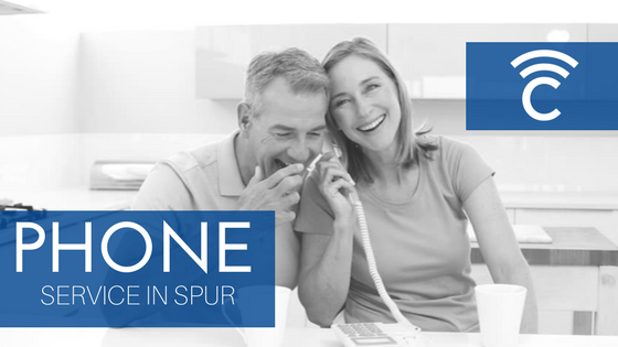 Phone service in Spur